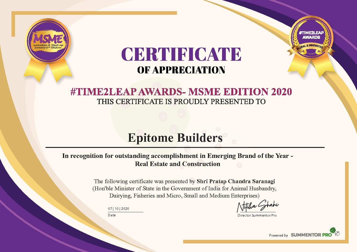 Epitome Builders- Emerging